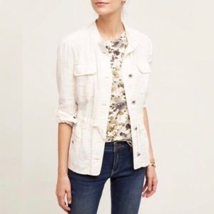 Anthropologie Hei Hei Breakaway Linen Jacket